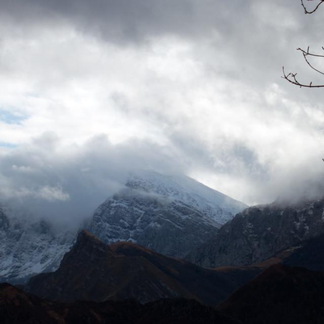 """""""Ponga """"natural park"""", Asturias"""" stock image"""