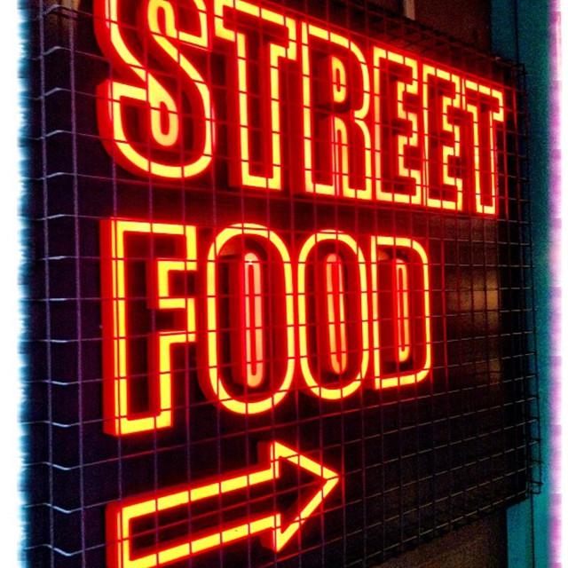 """Street Food"" stock image"