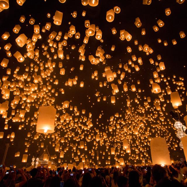 """""""Yee Peng Festival"""" stock image"""