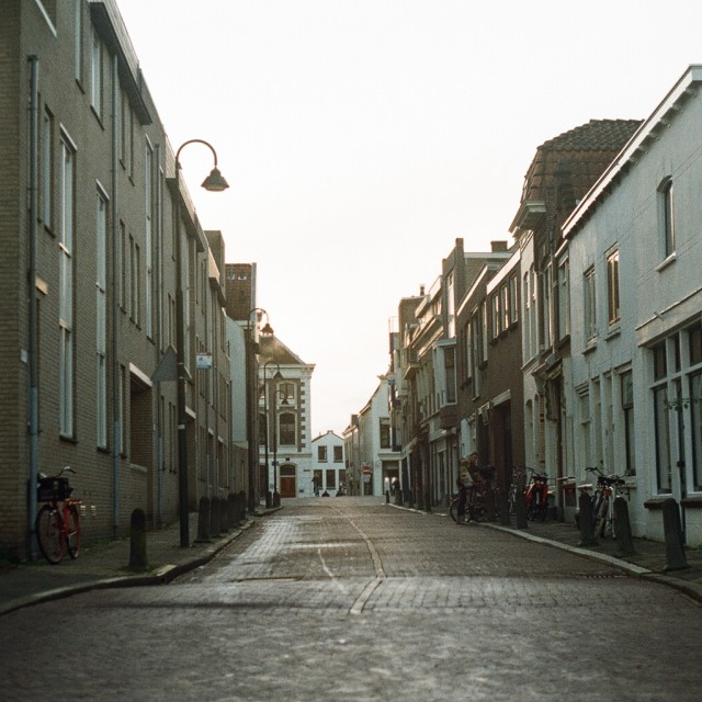 """""""Streets of Gouda"""" stock image"""