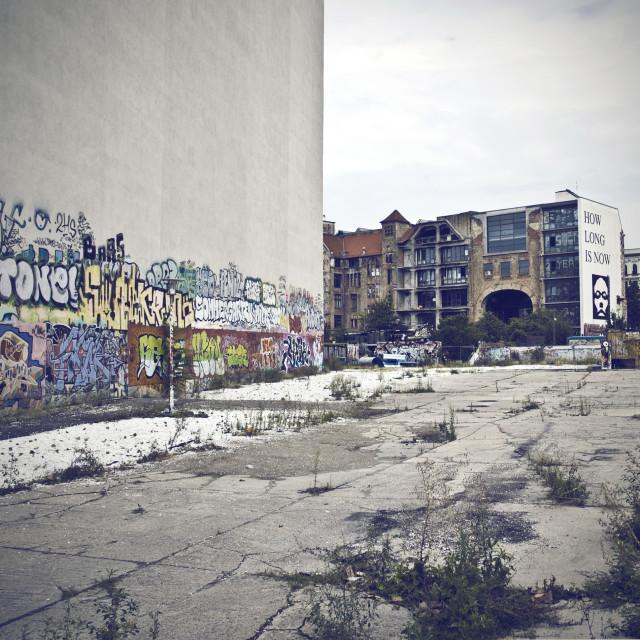 """""""Berlin Urban Graffiti"""" stock image"""