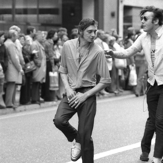 """Dancing In The Street"" stock image"