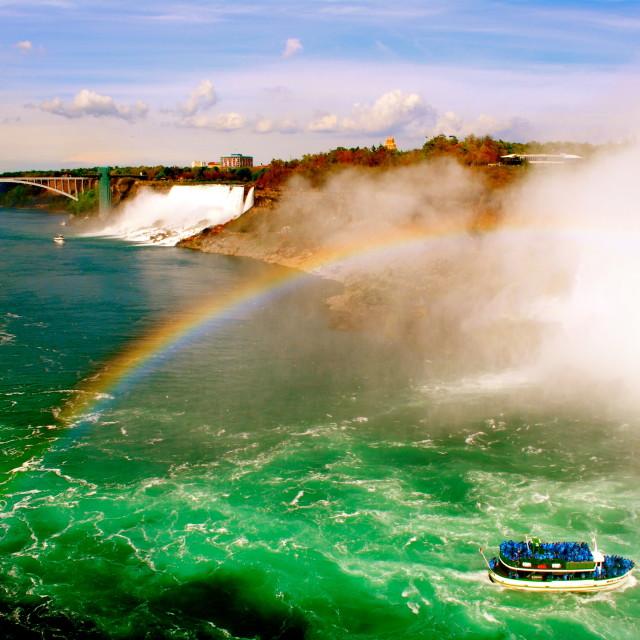 """Somewhere Under the Rainbow"" stock image"