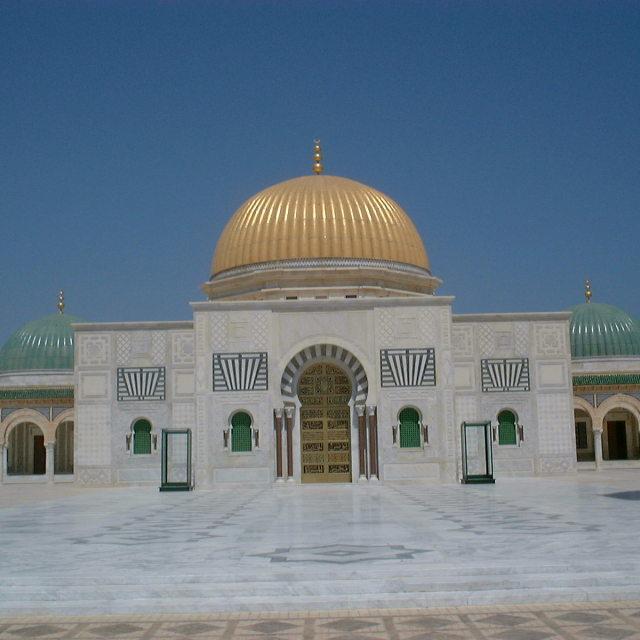 """""""Habib Bourgibba Mausoleum"""" stock image"""