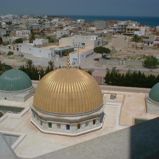 """Habib Bourgibba Mausoleum Domes"" stock image"