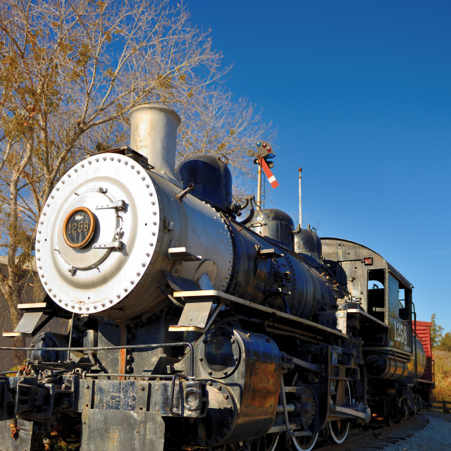 """Old Train"" stock image"