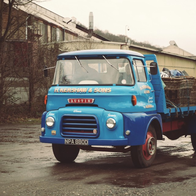 """""""Old Lorry"""" stock image"""