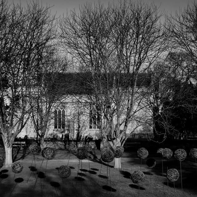 """""""Doddington church,Lincolnshire."""" stock image"""