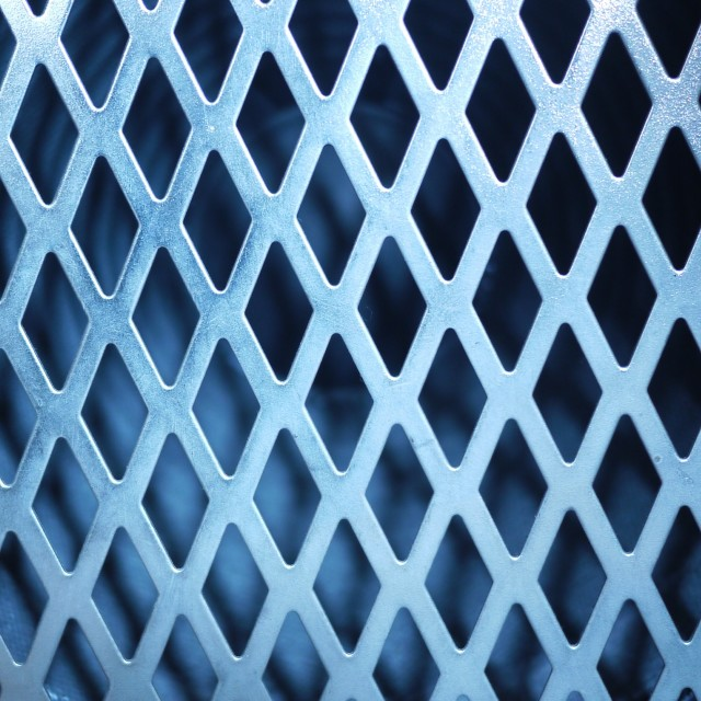 """Steel grid background"" stock image"