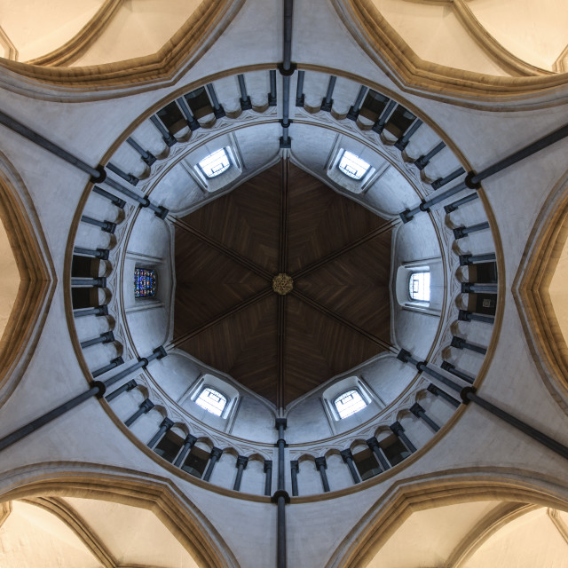 """Church ceiling"" stock image"