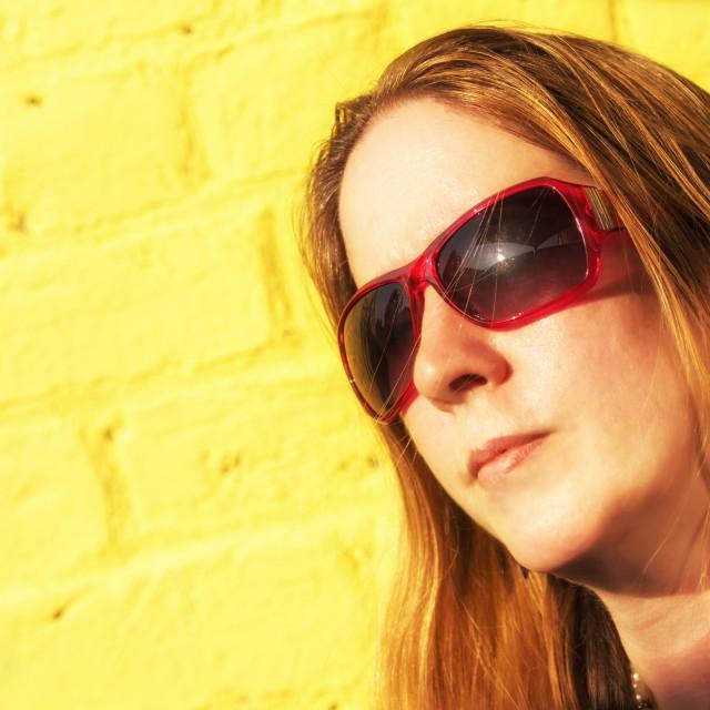 """Sunshine Girl"" stock image"