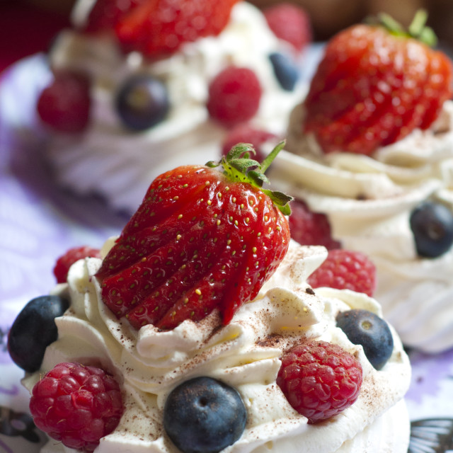 """Summer Meringue"" stock image"