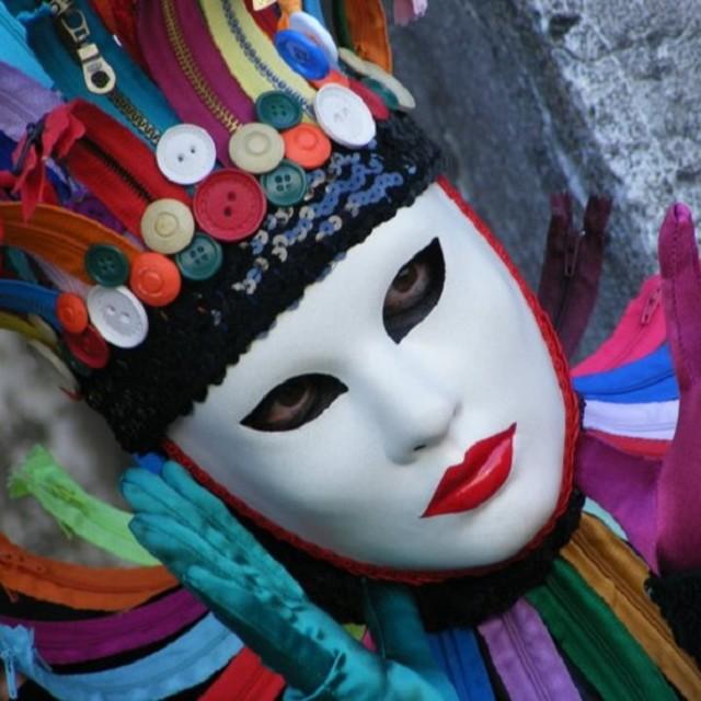 """""""Venice Carnival Mask"""" stock image"""