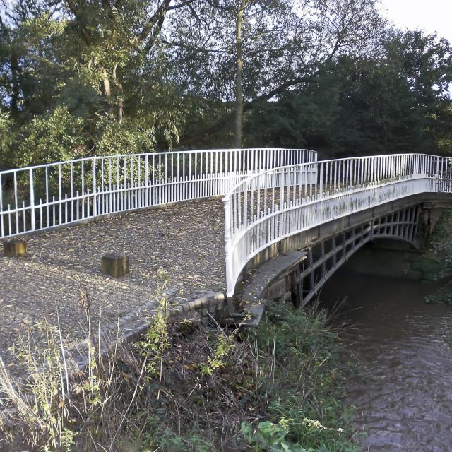 """Cantlop bridge,Shropshire."" stock image"