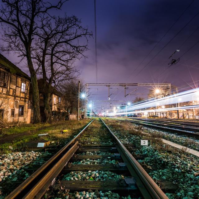 """Zagreb Railway"" stock image"