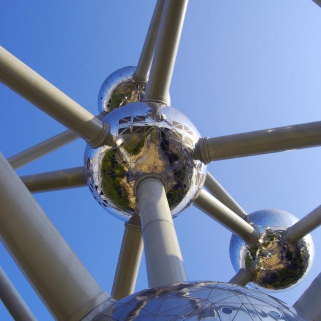 """""""Atomium Brussels, Belgium"""" stock image"""