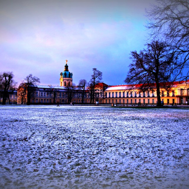 """Charlottenburg Palace, Berlin"" stock image"