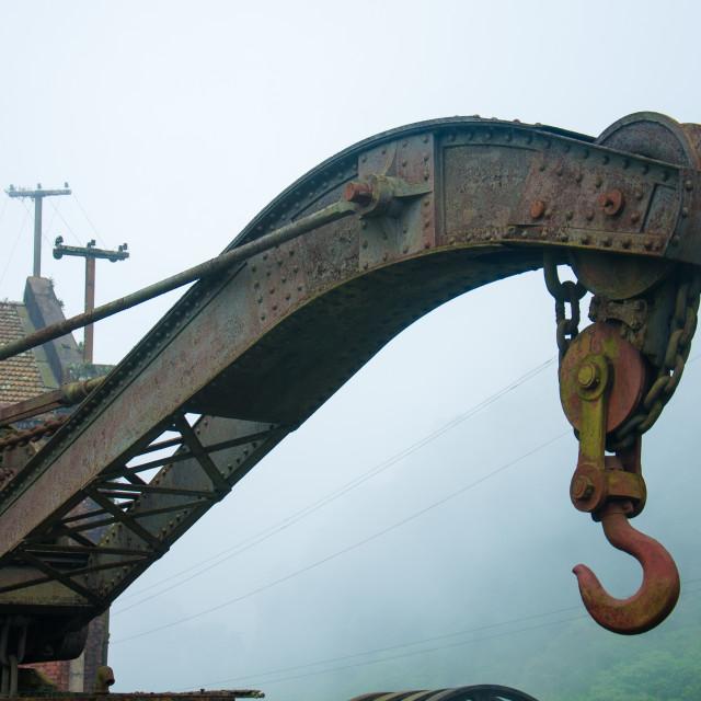 """Hook train"" stock image"