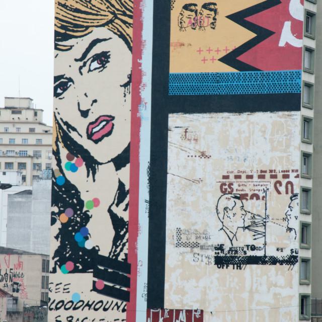 """""""Mural"""" stock image"""
