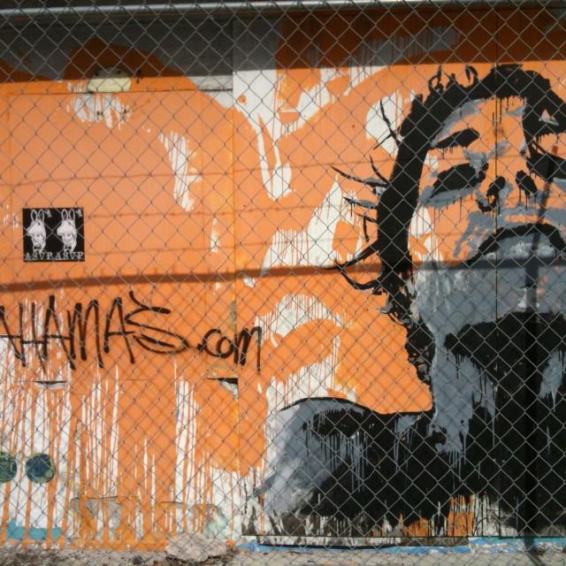 """""""Bahamas Graffiti"""" stock image"""