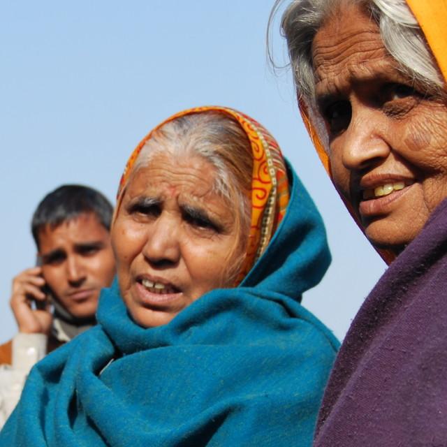 """Indian women in Rajastan, India"" stock image"