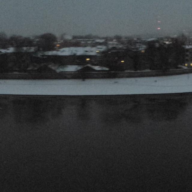 """Panoramic view of the River Vistula."" stock image"