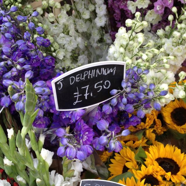 """""""Flower Market"""" stock image"""