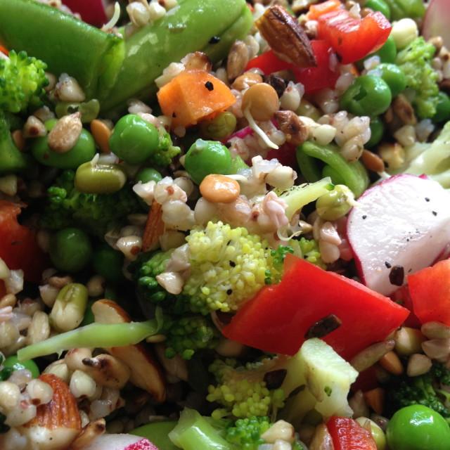"""""""Superfood salad"""" stock image"""