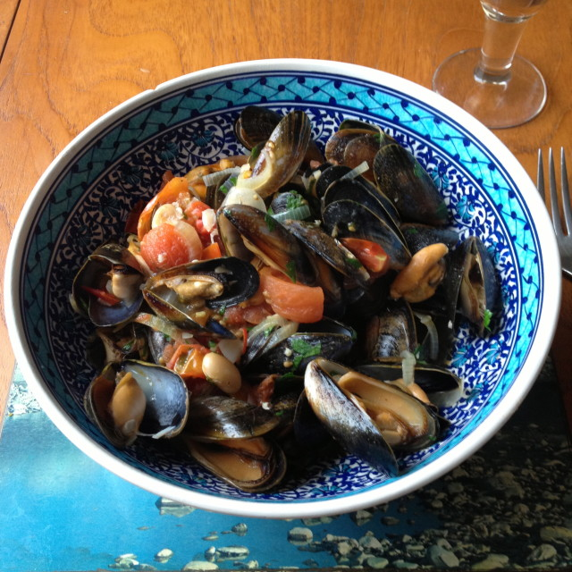 """""""Mussels"""" stock image"""