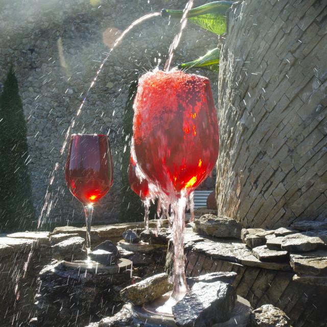 """""""Milestii Mici Winery in Moldova"""" stock image"""