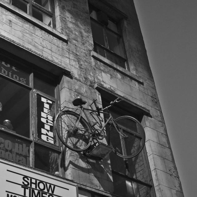 """High as a Bike"" stock image"