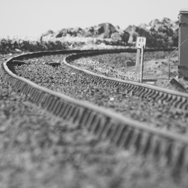 """Tracks"" stock image"