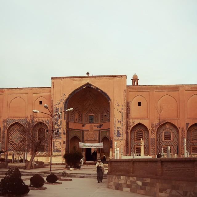 """Khajah Abdullah Ansari's Tomb"" stock image"