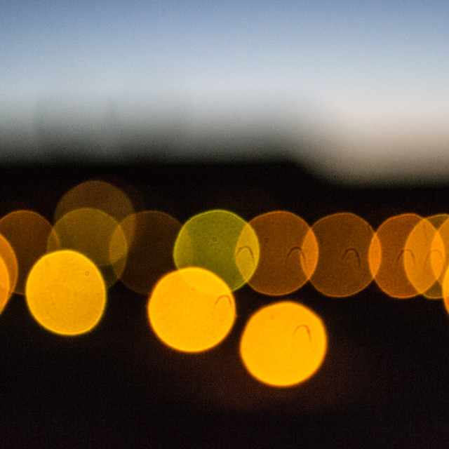 """Namibian lights"" stock image"