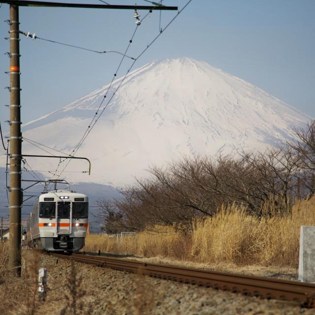 """Mt Fuji"" stock image"