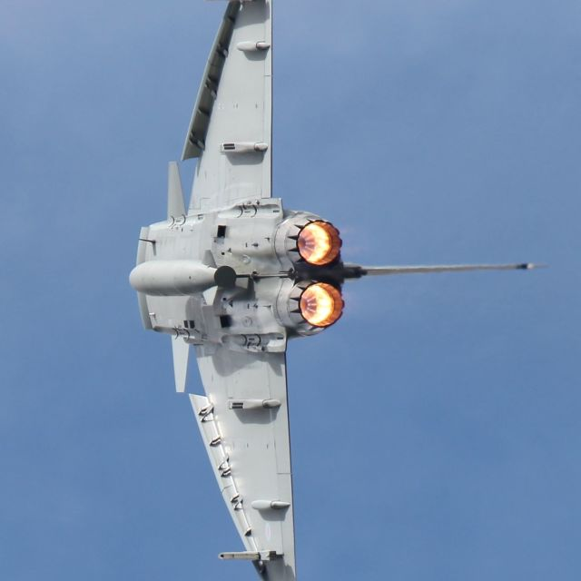 """Eurofighter Typhoon"" stock image"