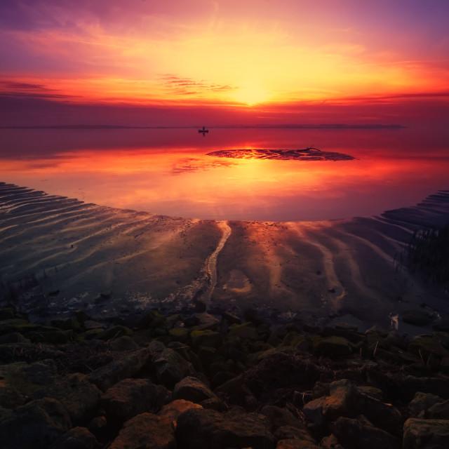 """Humber Sunset"" stock image"