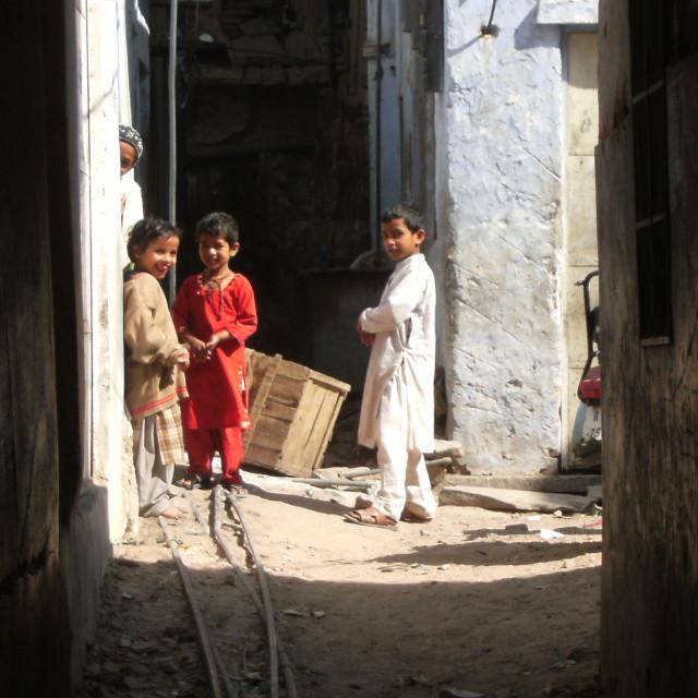 """Backstreets, India"" stock image"