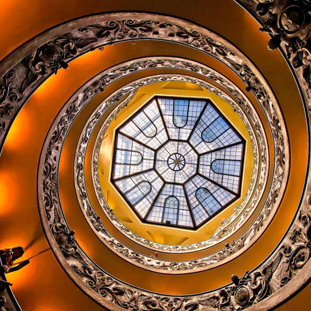 """""""Vatican stairs"""" stock image"""