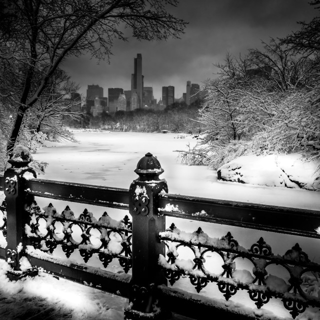 """Frozen NYC"" stock image"