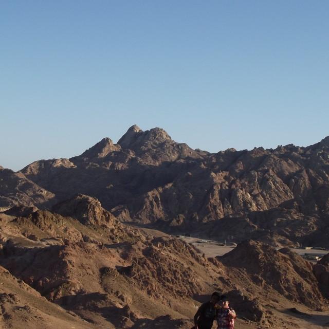 """""""Egypt Sinai"""" stock image"""