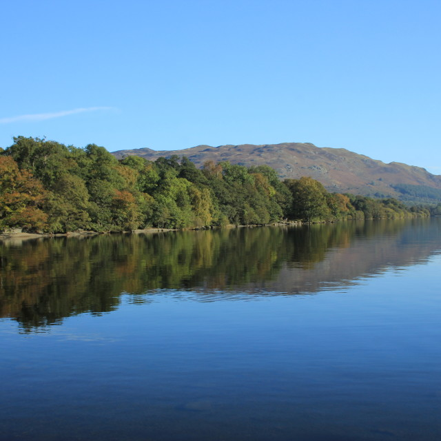 """Lake District, Ullswater"" stock image"