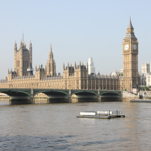 """Houses of Parliament"" stock image"