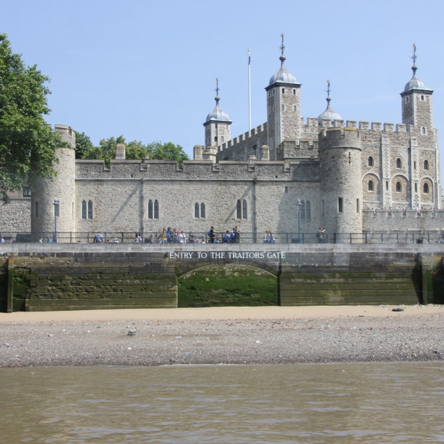"""Tower of London"" stock image"