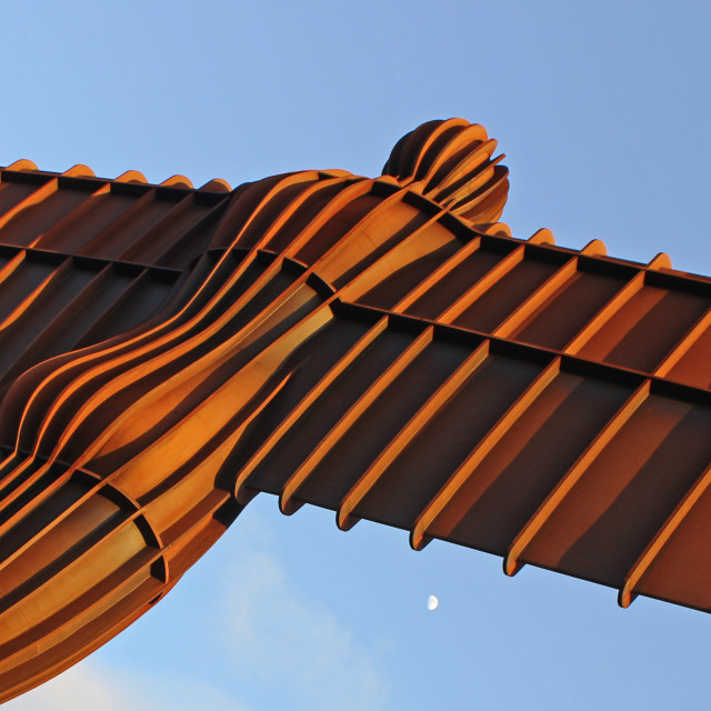 """Angel of the North"" stock image"