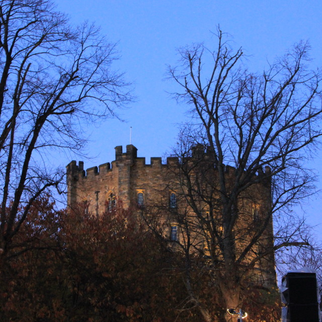"""Durham Castle"" stock image"