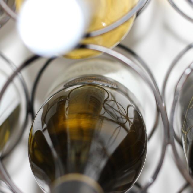 """Wine Rack"" stock image"