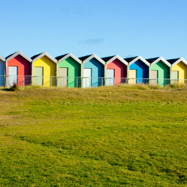 """Blyth Coast"" stock image"