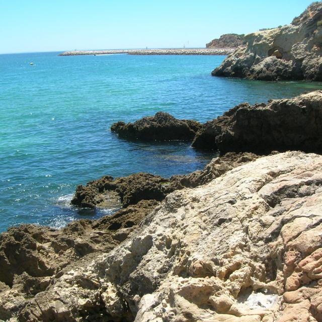 """""""Portuguese coastline"""" stock image"""