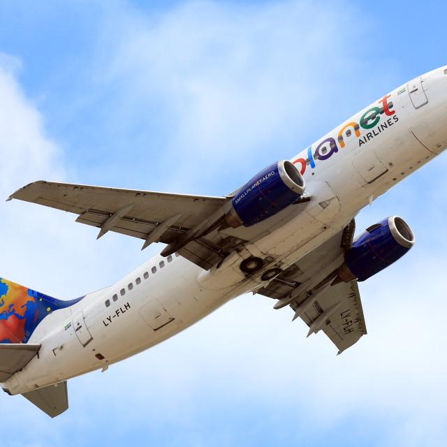 """Boeing 737"" stock image"